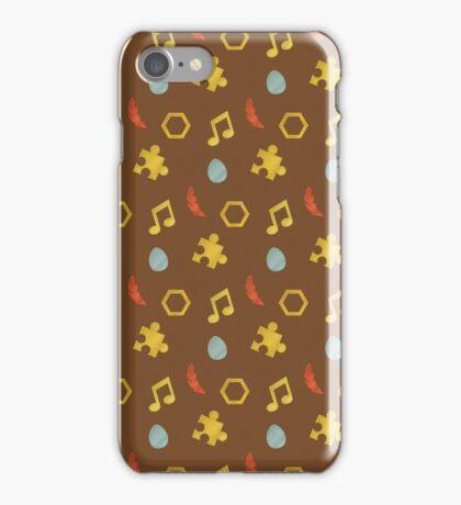 Banjo-Kazooie Collectibles iPhone Case/Skin