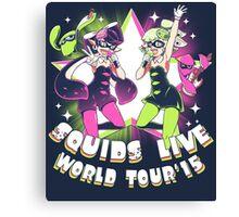 squids live world tour!  Canvas Print