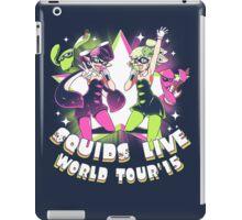squids live world tour!  iPad Case/Skin