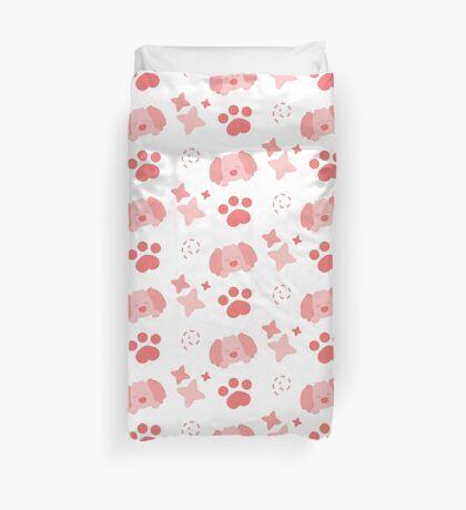 Potato Puppy, Playful Pattern Duvet Cover