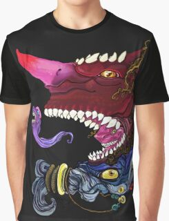 Toothy Demon Graphic T-Shirt