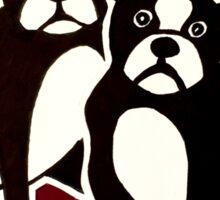 Boston Terriers Sticker