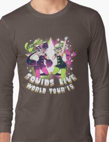 squids live world tour!  Long Sleeve T-Shirt