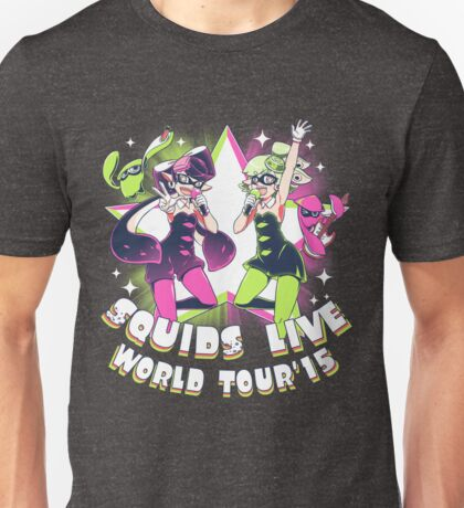 squids live world tour!  Unisex T-Shirt