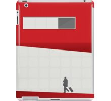 Funky Little Red Building iPad Case/Skin