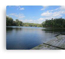 Lake Ridge Reflecting by Respite Artwork Canvas Print