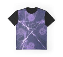 XBox Controller  Violet Graphic T-Shirt