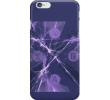 XBox Controller  Violet iPhone Case/Skin