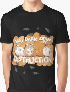 Danganronpa - Four Dark Devas of Destruction Graphic T-Shirt