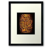 Mechanical Workings Framed Print