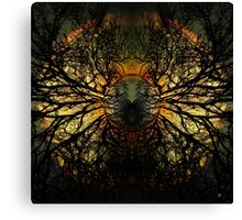 INTO THE WILD WOOD Canvas Print