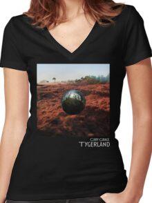 Tygerland Women's Fitted V-Neck T-Shirt