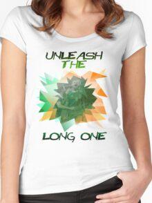 Shane Long Irish International Euro 2016 - Unleash the Long One Women's Fitted Scoop T-Shirt