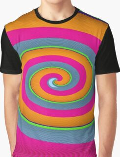 colours spiral Graphic T-Shirt