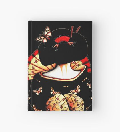 Geisha Girl TShirt Hardcover Journal