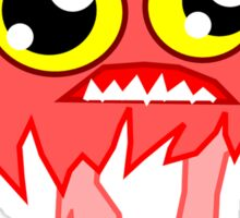 Scary (not) Cartoon Monster Zombie Sticker