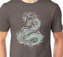 Saber-toothed Serpent in Space Unisex T-Shirt