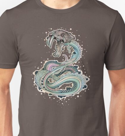 Saber-toothed Serpent in Space T-Shirt