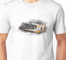 Rally Car Illustration Unisex T-Shirt