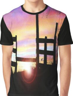 AS THE SUN SETS Graphic T-Shirt