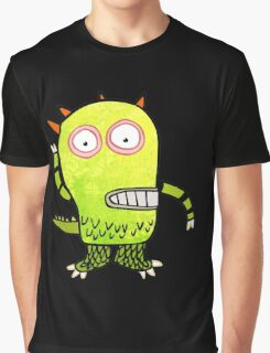 Fun Monster Zombie Graphic Graphic T-Shirt