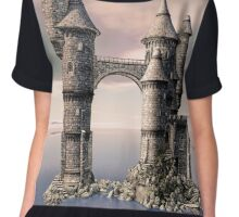 Fantasy Castle on The Sea Chiffon Top