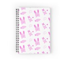 Gangster Bunny, Playful Pattern Spiral Notebook