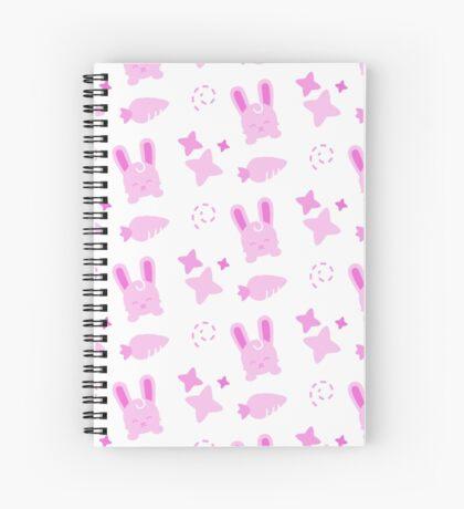 Gangster Bunny, Playful Pattern Spiral Notebook