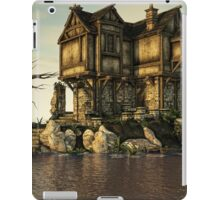 The Medieval House on The Sea iPad Case/Skin