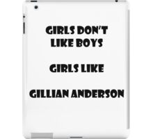 Girls like Gillian iPad Case/Skin