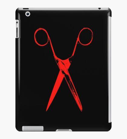 Scissors - red iPad Case/Skin
