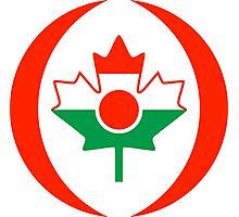 Niger Canadian Multinational Patriot Flag Series Photographic Print
