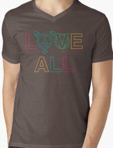 LOVE ALL Mens V-Neck T-Shirt