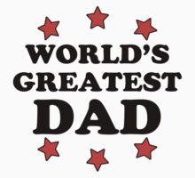 World's Greatest Dad Baby Tee