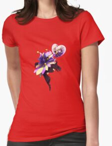 Super Paper Mario - Dimentio Womens Fitted T-Shirt