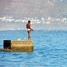 Graceful fishing by iamelmana