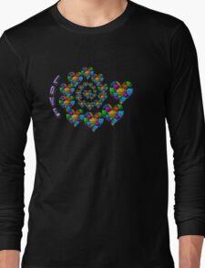 colours hearts Long Sleeve T-Shirt