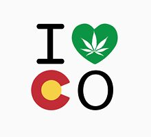I Love Mile High Colorado Unisex T-Shirt