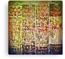 Cognitive Mapping  Canvas Print