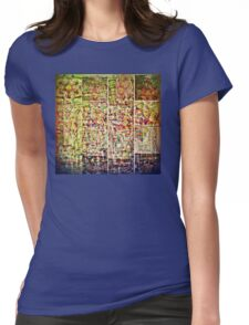 Cognitive Mapping  Womens Fitted T-Shirt