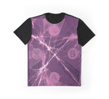 XBox Controller  Purple Graphic T-Shirt