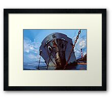Hometown Ghost Ships Framed Print