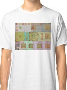 Bullseye Quilt Classic T-Shirt