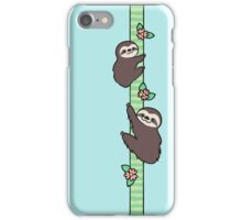 Three Toed Sloths iPhone Case/Skin