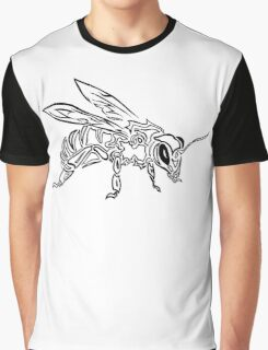 """""""Bee Spirit"""" ver.1 - Surreal abstract tribal bee totem animal Graphic T-Shirt"""