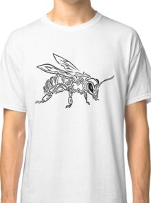 """Bee Spirit"" ver.1 - Surreal abstract tribal bee totem animal Classic T-Shirt"
