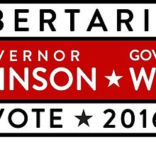 Johnson / Weld: Vote Libertarian 2016 by TVsauce