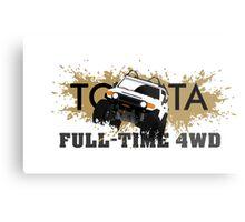 FJ FULL TIME 4WD Metal Print