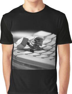 Stormtrooper Keyboard Graphic T-Shirt
