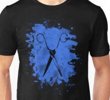 Scissors - bleached blue Unisex T-Shirt